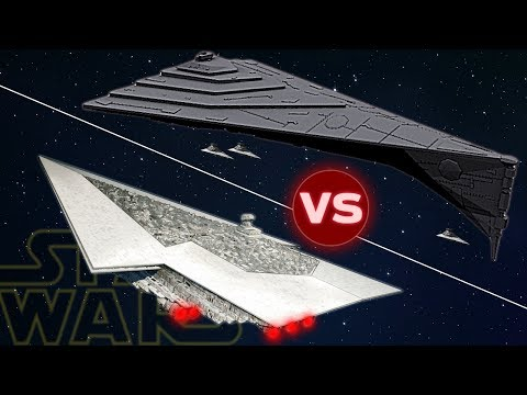 Eclipse Dreadnought vs 3 Executor Super Star Destroyers | Star Wars: Who Would Win