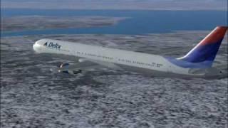 Delta flight 155 from MAN to JFK (FS2004)