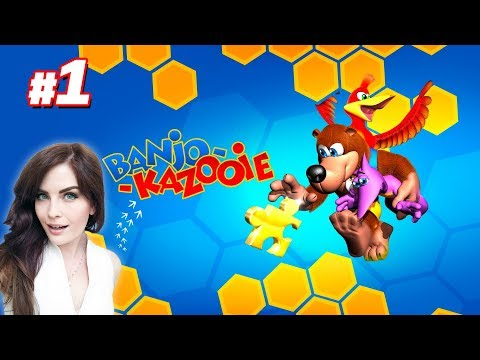 Banjo-Kazooie, my very first playthrough (Part 1)
