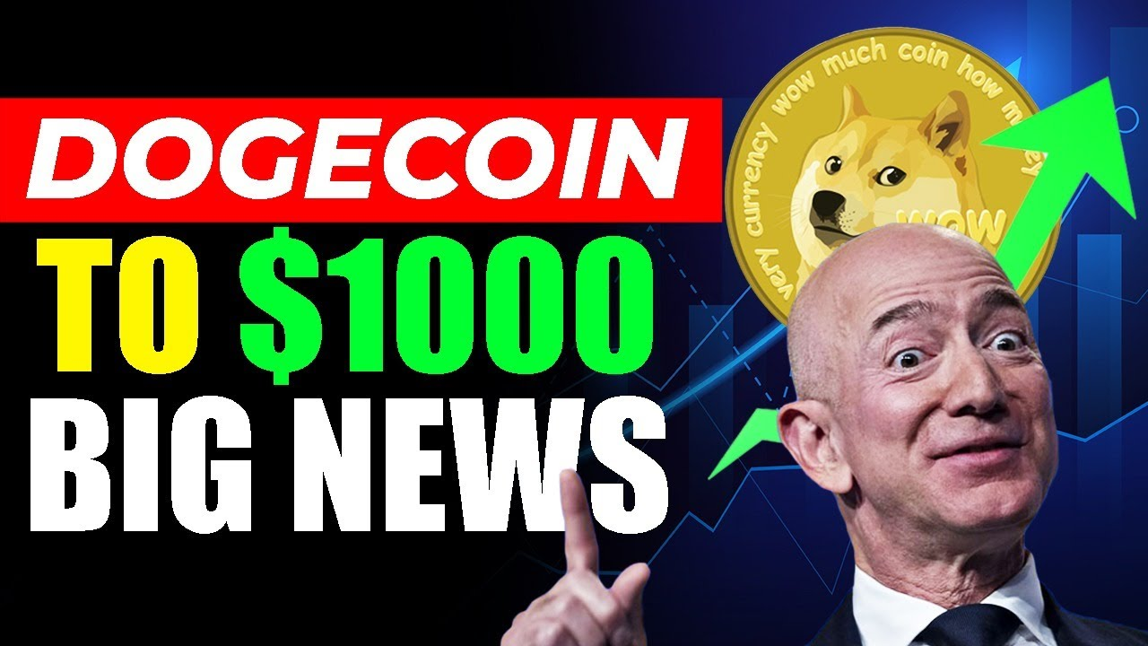 Elon Musk and Jeff Bezos LEAKED When Dogecoin Will Go Past $1000 By 2021! (INSANE NEWS)