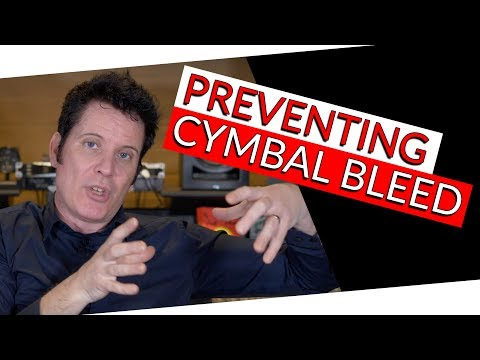 How to Prevent Cymbal Bleed   FAQ Friday - Warren Huart: Produce Like A Pro