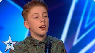 FIRST LOOK: Young singer STUNS Ant & Dec with a voice beyond his years | BGT 2019