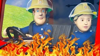 Fireman Sam US New Episodes | Firefighters teamwork | Jupiter in action! 🚒 🔥 Videos For Kids