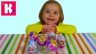 Свинка Пеппа Лунтик и Смешарики София яйца с сюрпризом игрушкой распаковка Surprise eggs unboxing
