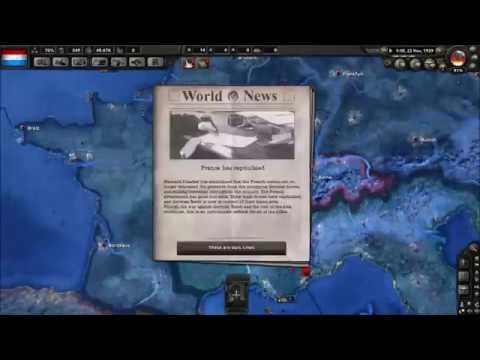 Hearts of Iron IV - Time lapse 00: Luxembourg