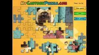 Мультик игра Тайная жизнь домашних животных: Пазл с Меллом (Mel Puzzle)