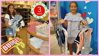 ANYTHING YOU CAN CARRY IN 3 MINUTES , No Budget , SHOPPING CHALLENGE | SISTER FOREVER