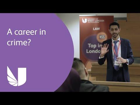 A career in crime? | Criminal litigation workshop | University of West London