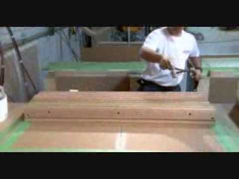 Comment c 39 est fait table de billard youtube - Comment fabriquer une table de billard ...