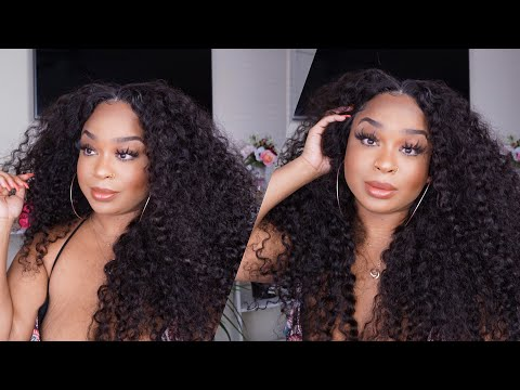 Ali Julia  Malaysian Curly  GRWM 2 in 1 Hair and Outfit
