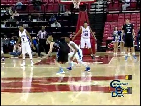 C. Milton Wright vs Stephen Decatur Boys Basketball 3A State Final 3-12-16