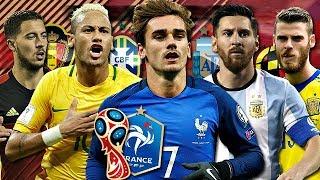 QUELLE EST LA NATION FAVORITE POUR LA COUPE DU MONDE 2018 ? #QLF4