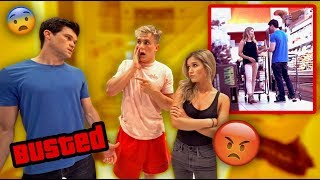 WE CAUGHT HIM CHEATING ON HIS GIRLFRIEND!