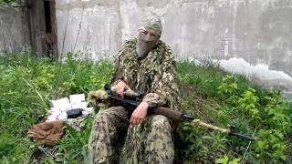 Российская снайперша на Донбассе