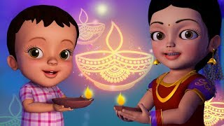 Sab Ke Saath Manao Diwali !   Hindi Rhymes for Children   Infobells
