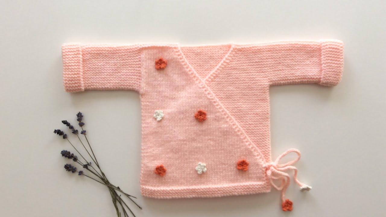 Kimono Hırka / Zıbın Hırka / Kruvaze Hırka / Kimono Baby Cardigan