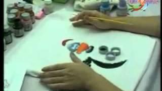 Programa Fazendo Arte – Guardanapo Galinha D'Angola