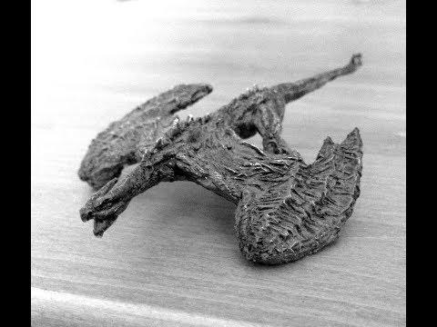Sculpting a Dragon Miniature in Green Stuff Kneadatite Putty