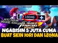 NGABISIN 5JUTA (16K DIAMOND) CUMA BUAT SKIN KING OF FIGHTER IORI DAN LEONA - Mobile Legends
