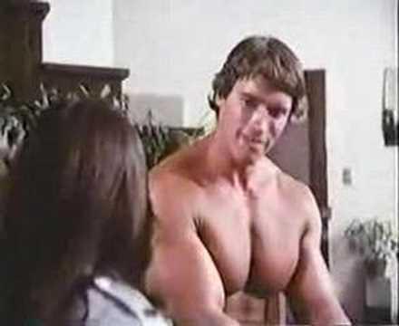 arnold schwarzenegger and topless girl