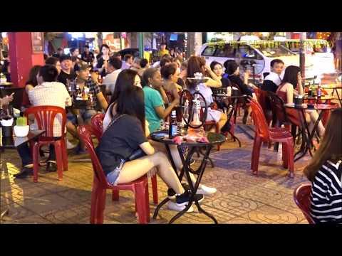베트남 밤문화 욕망의 여행자거리 Backpacker street Vietnam| 越南 夜生活, ベトナムのナイトライフ