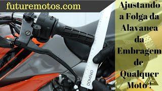 Como Ajustar a Folga da Alavanca de Embreagem da Moto CG 150 Titan ( Serve para qualquer moto).
