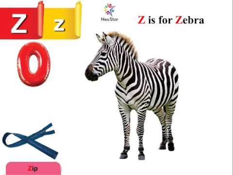 words with letter z z is for zebra now start with letter z 25762 | hqdefault