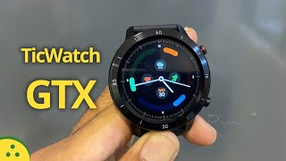 TicWatch GTX Tamil Unboxing and First Impressions