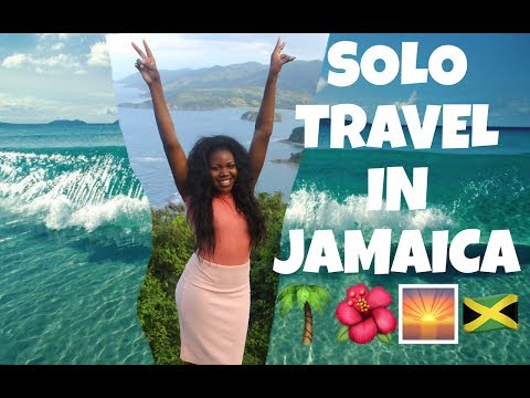 VLOG: SOLO TRAVEL IN JAMAICA 🌴🌅 OCHO RIOS