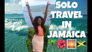 VLOG: SOLO TRAVEL IN JAMAICA 🌴🌅 OCHO RIOS