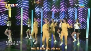 [T-aravn.net][Vietsub+Kara] Little Apple - T-ara @The Show