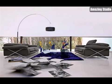 Moderne Wohnzimmer Möbel Stilvoll Design Stil