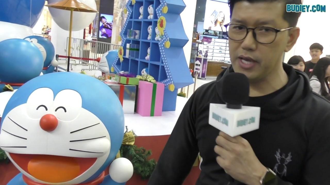Doraemon Terbesar di Asia Tenggara Ditemui di Johor Bahru