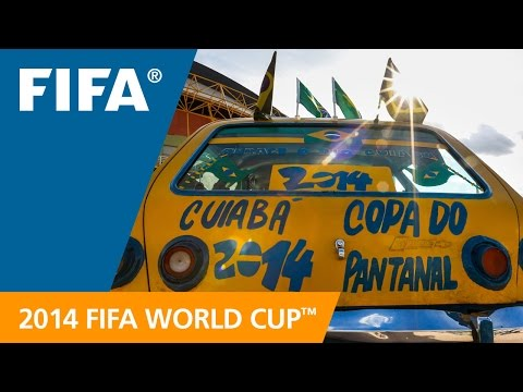 100 Days to Go! - 2014 FIFA World Cup Brazil™