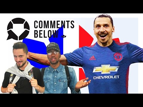 Zlatan to tear up the Premier League at Man United!   Comments Below