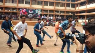 Flash Mob AURA'16 GIT Belgaum