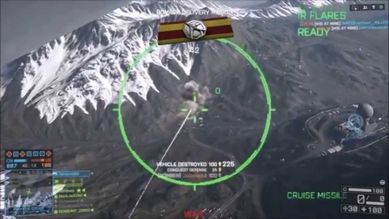 Battlefield 4: Bomber Xian H-6 / B-1B Lancer / Tu-160 ... B1 Lancer Vs Tu 160