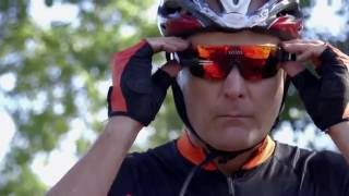 Solos Smart Cycling Glasses with Heads Up Micro-Display