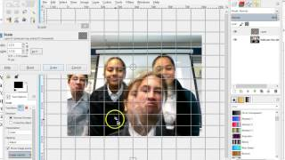 Gimp clone stamp face swapping tutorial