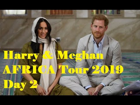 Harry & Meghan Africa Tour Day 2
