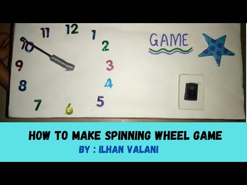 How to Make Electronic Spinning Wheel Game for Kids