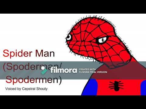 The Spoderman theme song