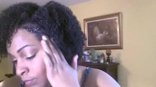 Indigofera: Refreshing a wash n go 3rd day hair
