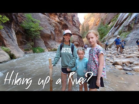 Hiking The Narrows in Zion National Park - Full-time Family RV Travel