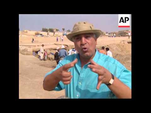 EGYPT: ARCHAEOLOGISTS DISCOVER ANCIENT CANAL