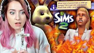 Playing The Sims 2 in expert mode (it broke me)