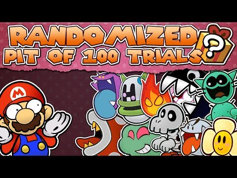 RANDOMIZED Pit of 100 Trials - Paper Mario TTYD Mod
