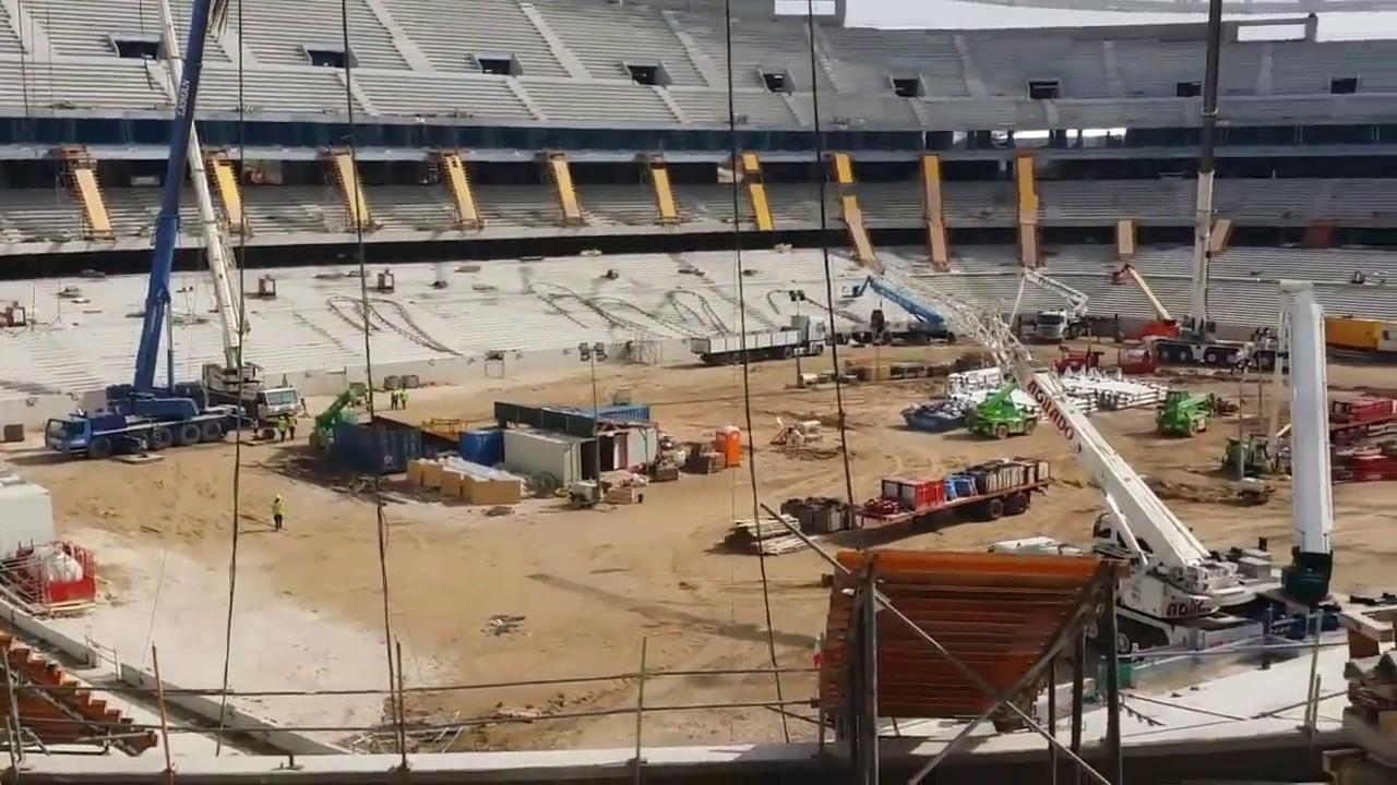 Nuevo estadio atletico de madrid wanda metropolitano for Puerta 3 wanda metropolitano