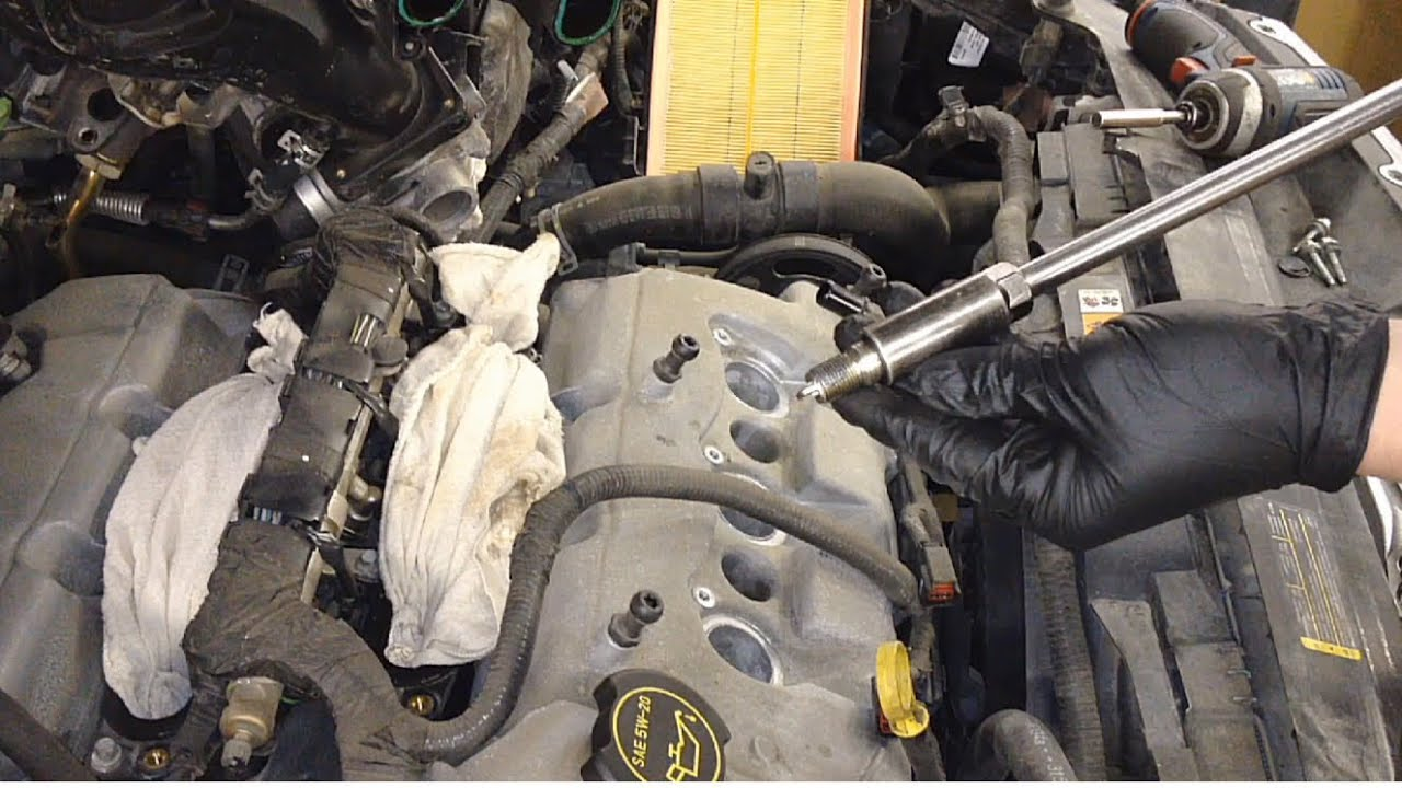 small resolution of ford fusion 3 0l dohc spark plug replacement