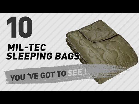 Mil-Tec Sleeping Bags Outdoor Collection // The Most Popular 2017